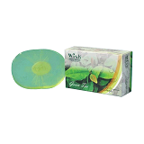 WISH Natural Skin Care Green Tea Transparent Soap [BC-007] - Sabun Mandi